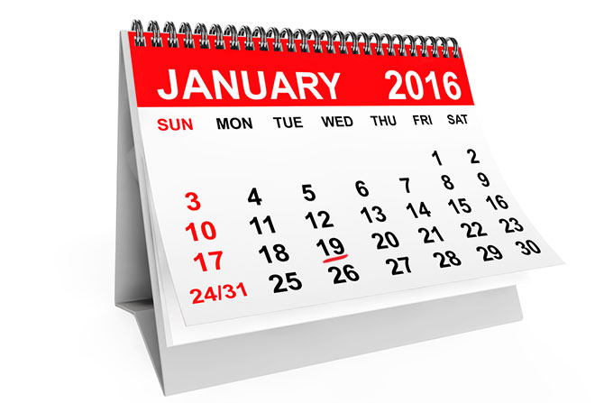important 2016 tax dates